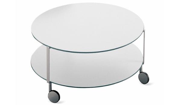 Zanotta Giro Sofabord et moderne og fleksibelt sofabord
