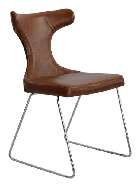 RGE Moon spisebordsstol - læderdrømmen