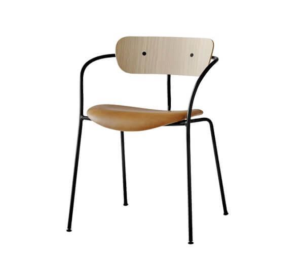 Andtradition Pavilion Stol AV4 spisebordsstol – den minimalistiske