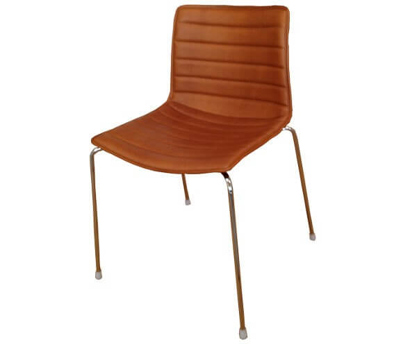 Arper Catifa 46 polstret spisebordsstol – den med alle mulighederne