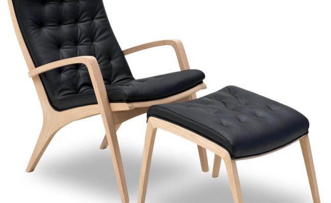 Ara Lænestol med fodskammel