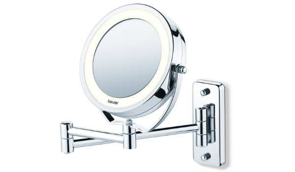 Beurer væghængt spejl LED og 5 x forstørrelse
