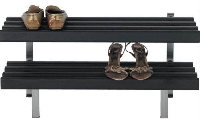 CASA Skohylde i sort – Moderne design