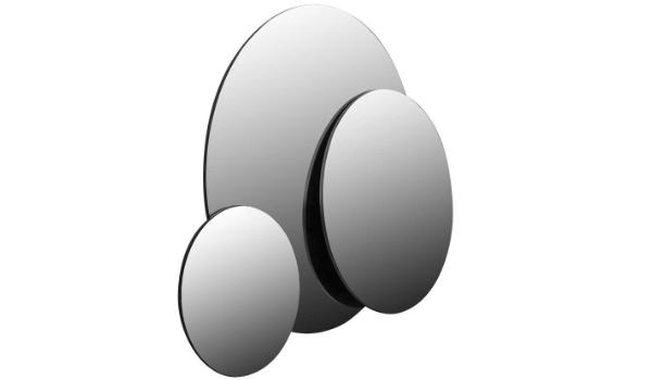 Colombo rundt spejl simpelt design og høj værdi til prisen