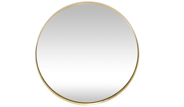 Hübsch messingspejl Bedste glamourøse design