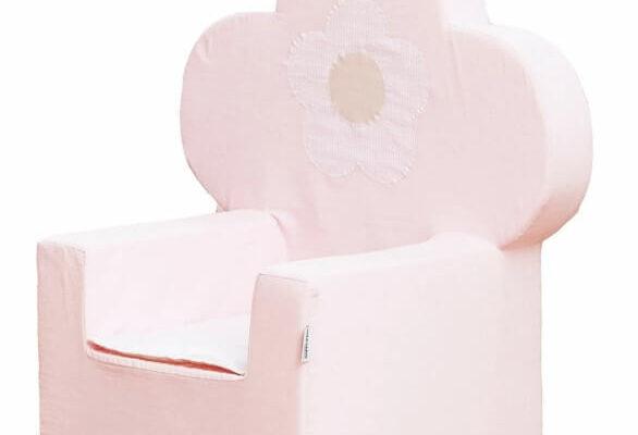 Hoppekids skumstol (Fairytale Flower) – Bedste lænestol til piger