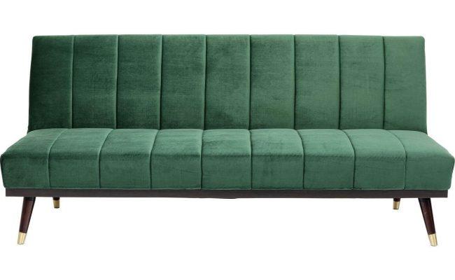 Kare Design Whisky sovesofa – grøn og kobber