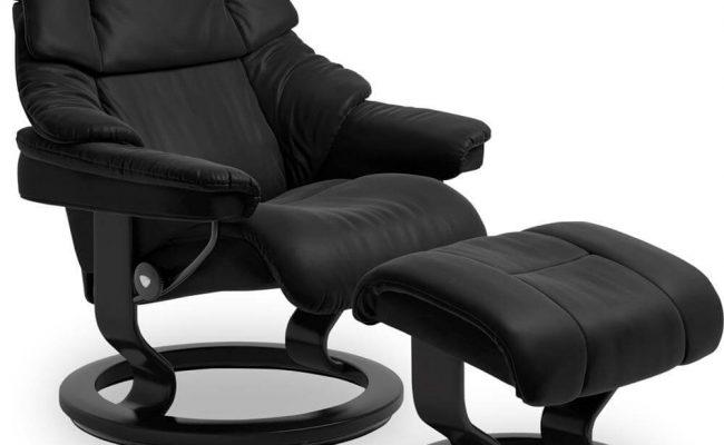 Stressless Reno L Lænestol med skammel