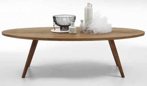 BODAHL Elipse Rustikt plankebord i elipseform