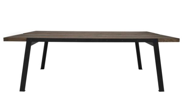CANETT Aspen Rustik plankebord med udtræk