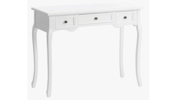 EJA konsolbord i hvid Klassisk og funktionel