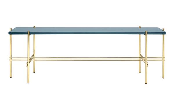 Gubi TS Bluegrey glas sofabord endeløst smukt design