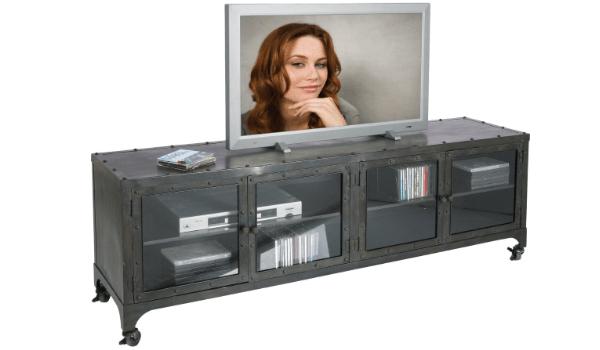 KARE DESIGN Factory TV-bord industrielt, råt og lækkert