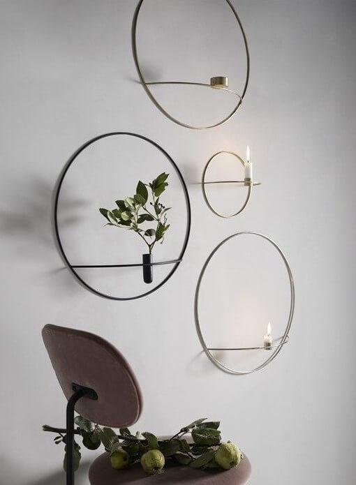 Menu (POV Circle candleholder) Bedste designlysestager til væggen