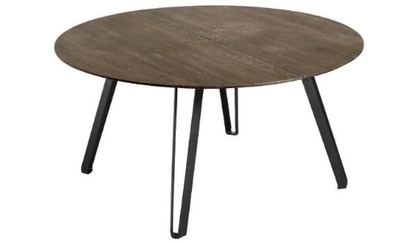 Muubs Space spisebord træ rund og mørk