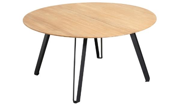 Muubs spisebord træ rund og detaljeret