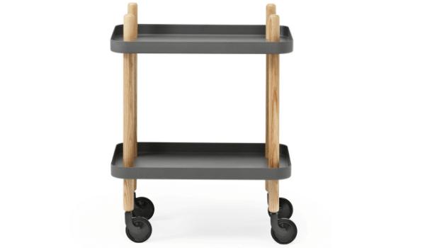 Normann Copenhagen Block Table rullebord