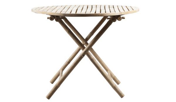 Tine K. Home bambus bord det perfekte valg til udestuen, altanen eller terrassen