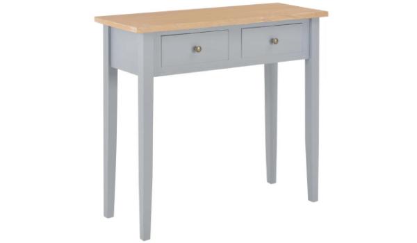 VidaXL konsolbord i træ Klassisk og tidløs design