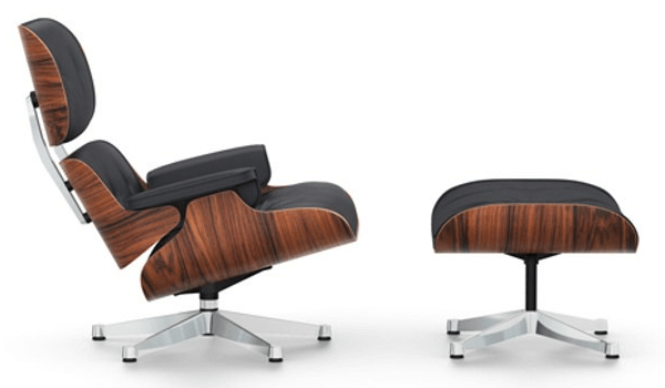 Vitra Eames Lounge Chair med skammel design drejestolen over dem alle