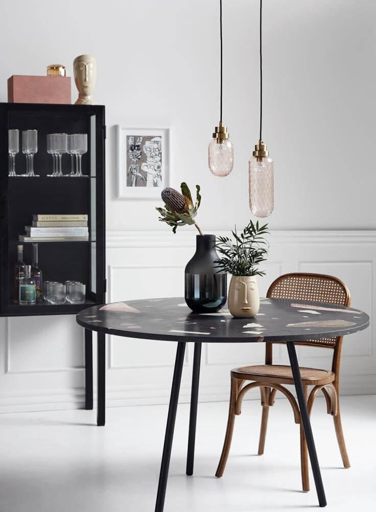 WICKY spisebordsstol med flet Mest miljøvenlige model