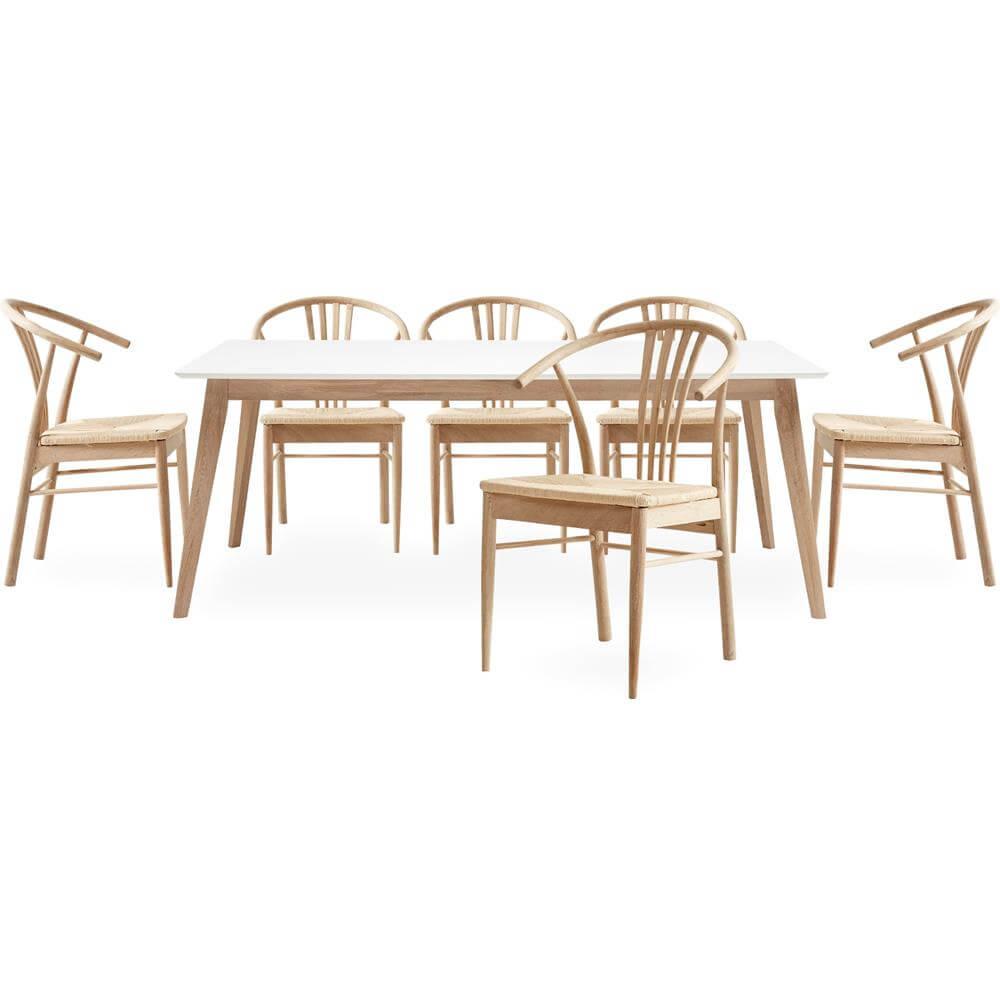 YORK spisebordsstol Bedste træmodel