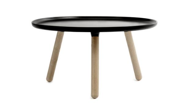 Normann Copenhagen Tablo bord i sort (Ø 78 cm) – til dig, der foretrækker minimalistisk indretning