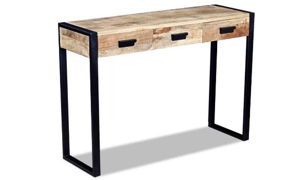 vidaXL Konsolbord med skuffer Kreativt design og god pris