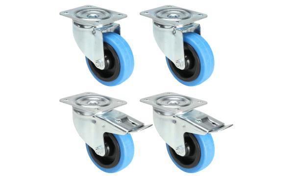 Blå hjul - til dig, der elsker farver