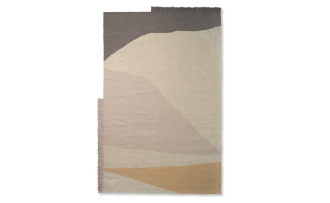 Ferm Living Kelim tæppe 160 x 250 cm – æstetisk perle