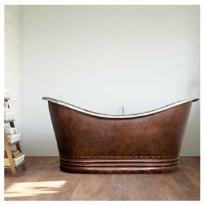GemLook Bateau Bronze badekar – vintage kobber kar