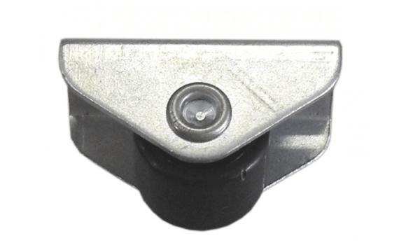 Møbelhjul 15 mm. I Sort plast - den praktiske løsning