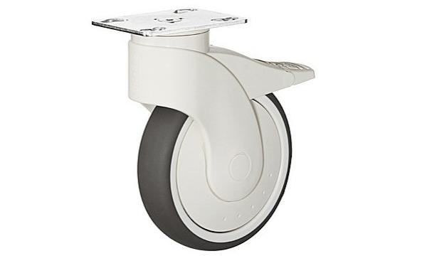 Møbelhjul i kunststof - til de store møbler