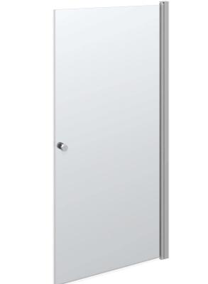 Scanbad Match A svingdør – Glasdør til badet der kan kombineres efter kundeønsker