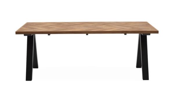 Heritage spisebord 200 x 100 x 75 cm er markant og elegant på én og samme tid