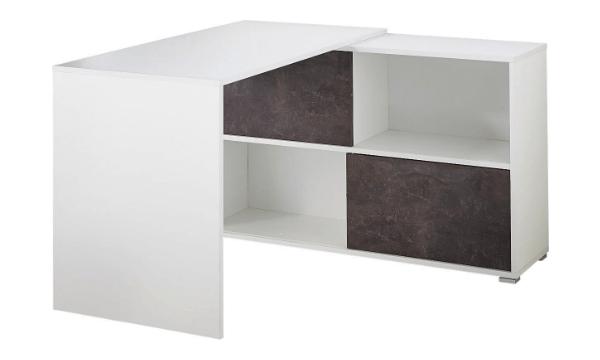 Arena hjørneskrivebord er både flot, praktisk og rummeligt