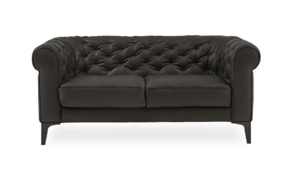 Natuzzi Editions C005 005 2 pers. sofa er både elegant, maskulin og praktisk