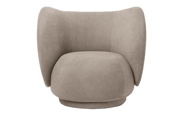 Greige-farvet møbler