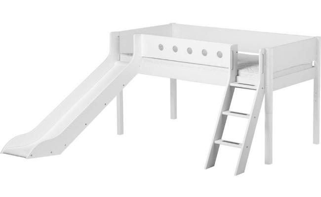 Flexa White Seng - I hvidlakeret robust MDF
