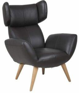 Four hvilestol i brun læder OUTLET Fredericia