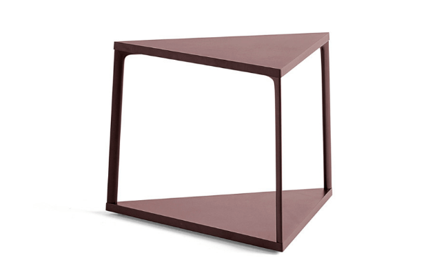 HAY Eiffel sidebord Triangle Dark Brick