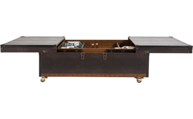 Kare Design Bar Colonial L75xB120xH37 rullende sofabord