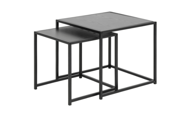 Møbelkompagniet Seaford indskudsborde i ask