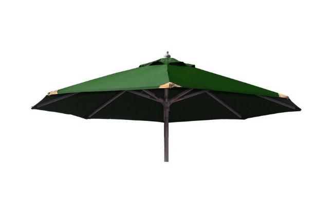Signe Parasol – Med tilt og parasoldug i grøn