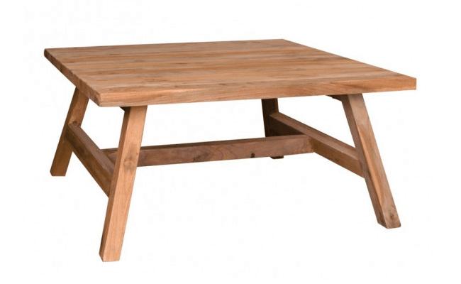 Genbrugstræ sofabord
