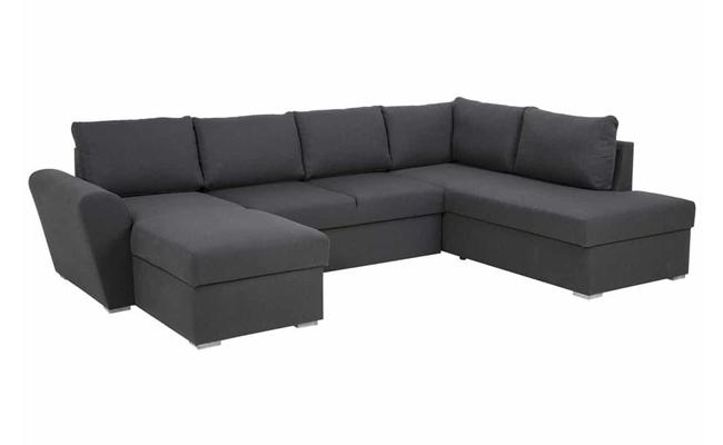 U sofa med sovefunktion