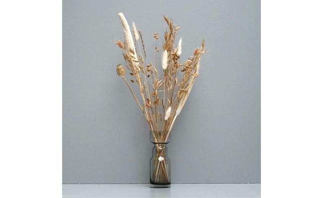 tørrede blomster dekorationer