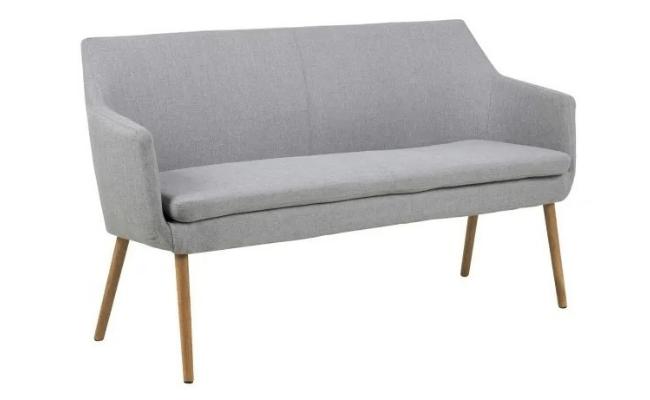 XL Møbler Nora sofabænk, grå