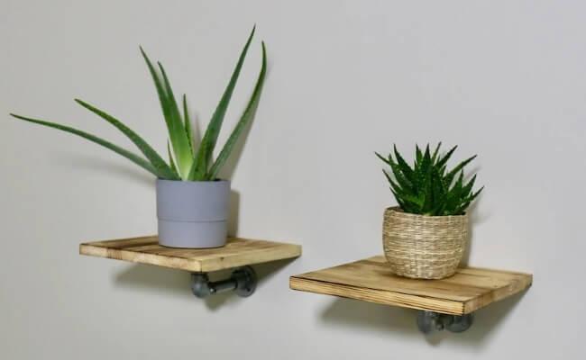 Ziito Træhylde, Enkelt stilren og praktisk væghylde