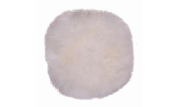 Møbelkompagniet Lammeskindshynde – ægte lammeskindshynde i flot hvid uld